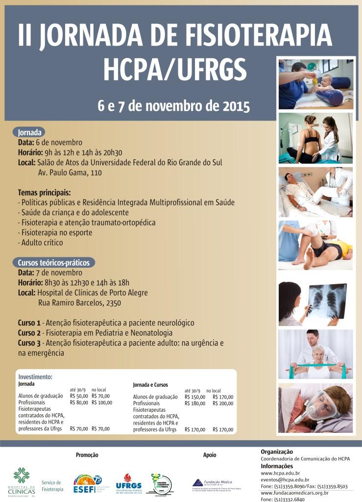 Cartaz II Jornada de Fisioterapia_2015